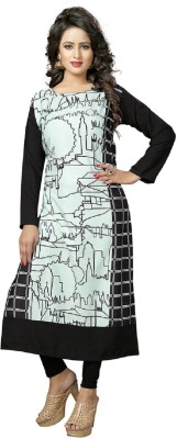Shubhkari Fashion Casual Printed Women's Kurti(Multicolor)