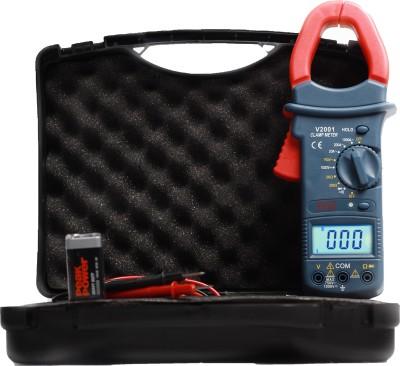 VAR TECH Digital V2001 CLAMP Meter V 2001 3½ Digits, 20/200 / 1000 A AC,1000 V DC / 750 V AC Digital Multimeter(Red, Blue 2000 Counts)
