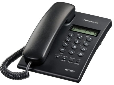 Panasonic KX-TSC60SXB Corded Landline Phone(Black)  available at flipkart for Rs.1065