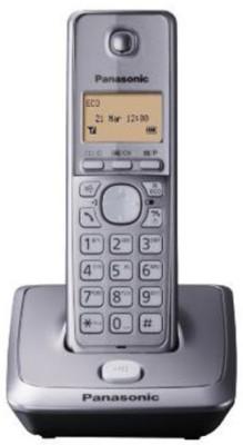 Panasonic KX-TG 2711EM Cordless Landline Phone(Silver)  available at flipkart for Rs.2530