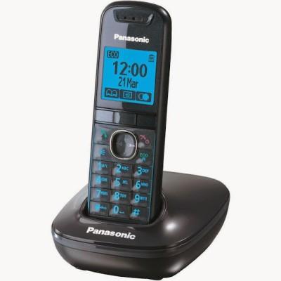Panasonic PA-KX-TG-5511 Cordless Landline Phone(Black)  available at flipkart for Rs.2999