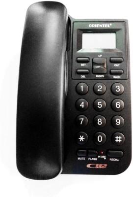 Siddh Present Orientel Jumbo Lcd Kx-T1555 Caller Id Corded Landline Phone(Black)