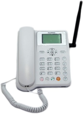 Huawei ETS5623 Cordless Landline Phone(White)  available at flipkart for Rs.998