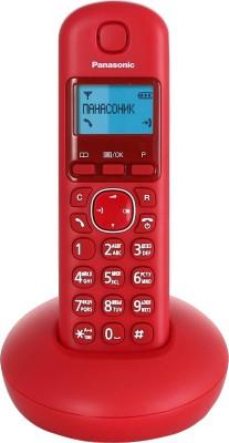 Panasonic KX-TGB210 Cordless Landline Phone(Red, Blue)