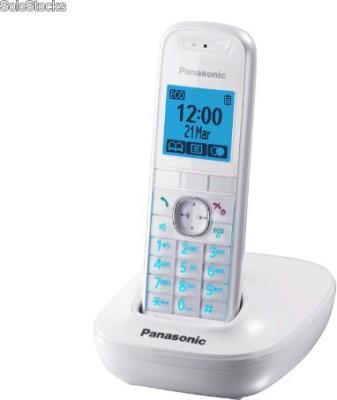 Panasonic KX-TG5511 Cordless Landline Phone(White)