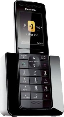 Panasonic KX-PRS120 Cordless Landline Phone(Black)