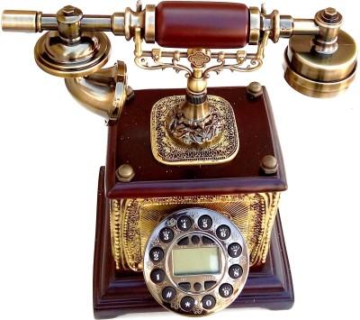 0196560f1 Buy Gooddeals Vintage Operational Cordless Landline Phone (Brown ...