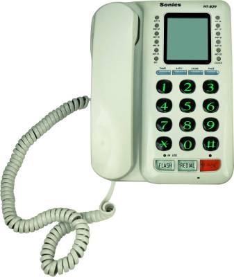 Sonics HT-829 Corded Landline Phone