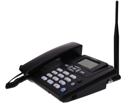 Aja Retail ETS3125I Cordless Landline Phone(Black)
