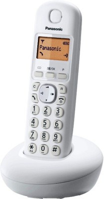 Panasonic KX-TG210 Cordless Landline Phone(White)
