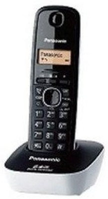 Panasonic KX-TG3411SXW 2.4 Digital Cordless Phone, Black