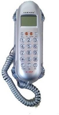 istore Orientel Caller ID Phone Kx-T666 Corded Landline Phone (silver)