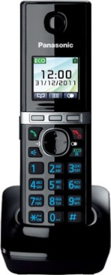 Panasonic PA-KXTG8051 Cordless Landline Phone with Answering Machine(Black)