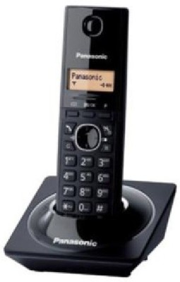 Panasonic KX-TG1711 Cordless Landline Phone(Black)