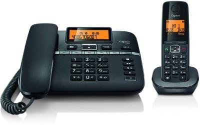 Gigaset C330 Corded Landline Phone (Black)