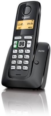 Gigaset A220 Cordless Landline Phone(Black)