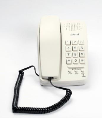 Beetel B15 Corded Landline Phone(Light Grey)  available at flipkart for Rs.590