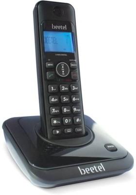 Beetel X63 Cordless Landline Phone(Black)  available at flipkart for Rs.1495