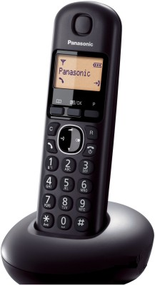 Panasonic PA-KX-TG210 Cordless Landline Phone(Black)