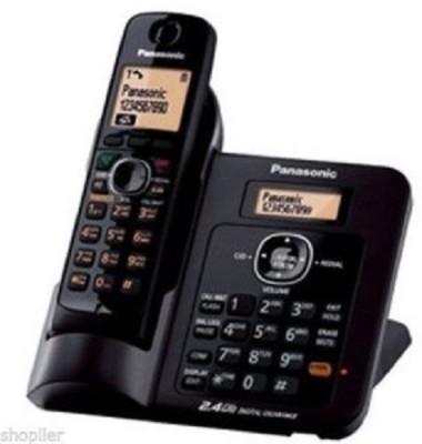 Panasonic KX-TG3821SX Cordless Landline Phone