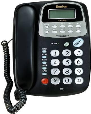 Sonics HT-818 Corded Landline Phone