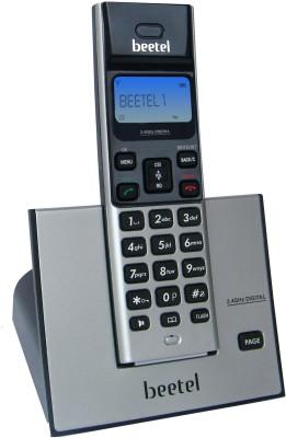 Beetel X62 Cordless Landline Phone(Black & Silver)  available at flipkart for Rs.1599