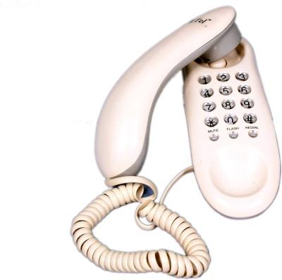 Talktel F-1 Wh Corded Landline Phone(White)  available at flipkart for Rs.440