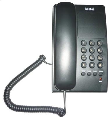 Beetel B17 Corded Landline Phone(Black)