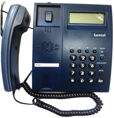 Beetel M51 Corded Landline Phone(Blue)  available at flipkart for Rs.698