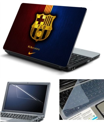 Namo Art 3in1 Laptop Skins with Screen Guard and Key Protector HQ1053 Combo Set Multicolor