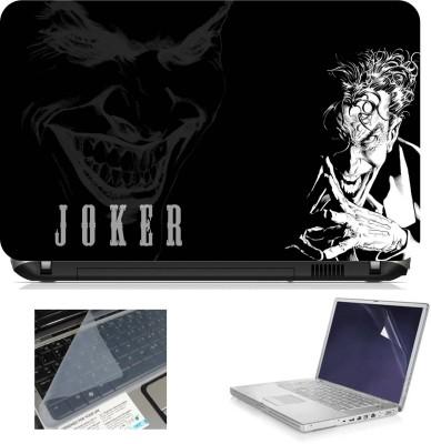 Print Shapes Joker Black Combo Set Multicolor