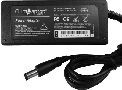 Clublaptop Hp Compaq ED495AA NW199AA#ABA 18.5V 3.5A 65 W Adapter(Power Cord Included)  available at flipkart for Rs.1103