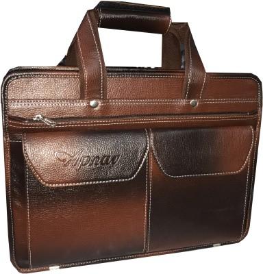 Apnav 14 inch Laptop Messenger Bag Brown