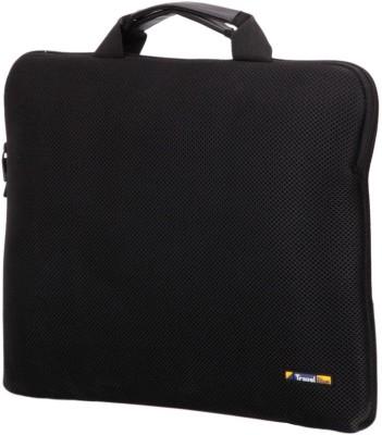 Travel Blue 15 inch Sleeve/Slip Case(Black) at flipkart