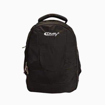 Comfy 16 inch Expandable Laptop Backpack Black