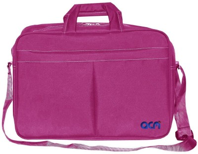 ACM 15.6 inch Laptop Messenger Bag Pink