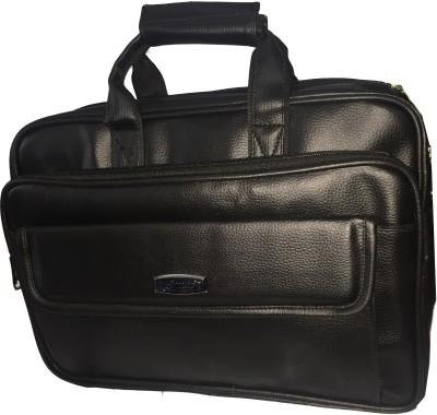 Apnav 15 inch Expandable Laptop Messenger Bag Black