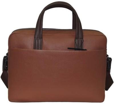 Mex 14 inch Laptop Messenger Bag Tan Mex Laptop Bags
