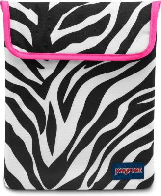 JanSport 10 inch Sleeve/Slip Case(White, Black)