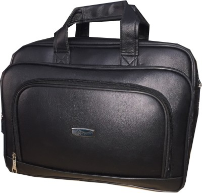 Apnav 15 inch Expandable Laptop Messenger Bag Black
