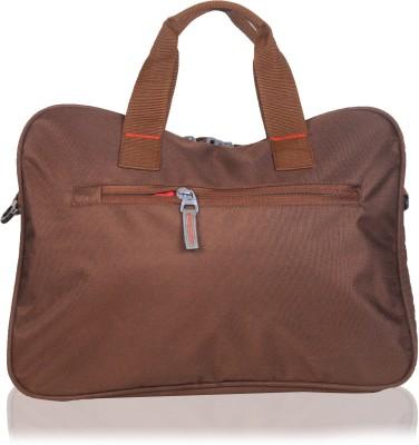 Yark 16 inch Laptop Messenger Bag Brown