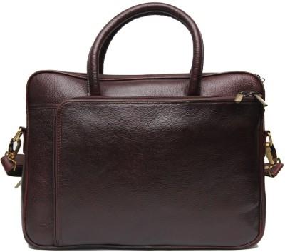Hidekin 15 inch Laptop Messenger Bag Brown Hidekin Laptop Bags