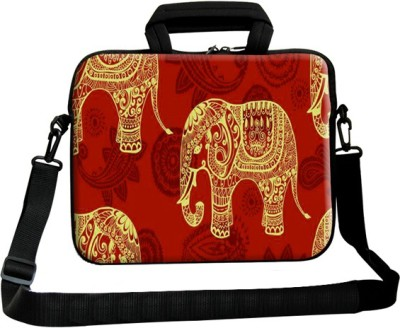 Theskinmantra 13 inch Laptop Messenger Bag(Multicolor) at flipkart