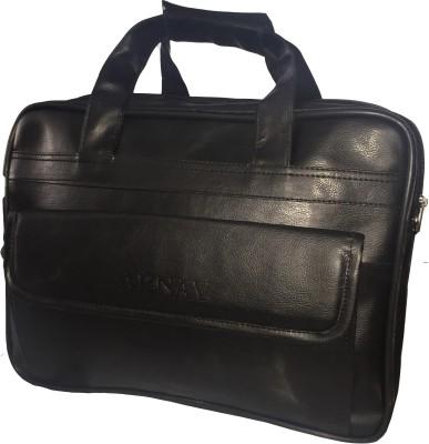 Apnav 15 inch Laptop Messenger Bag Black