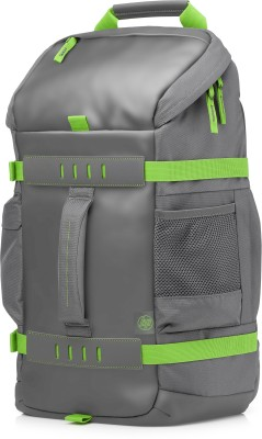 HP 15.6 inch Laptop Backpack(Grey, Green)