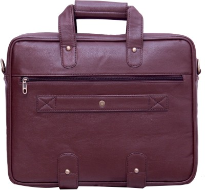 Yours Luggage 14 inch Laptop Messenger Bag Brown