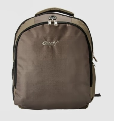 Comfy 15 inch Laptop Backpack Beige