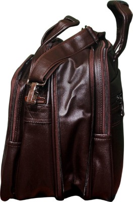 easies 18 inch Laptop Messenger Bag Brown easies Laptop Bags