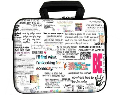 Swagsutra 11 inch Expandable Sleeve/Slip Case Multicolor