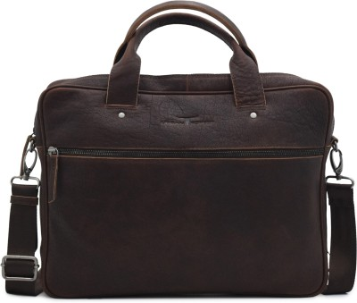 URBAN FOREST 14 inch Laptop Messenger Bag Brown URBAN FOREST Laptop Bags